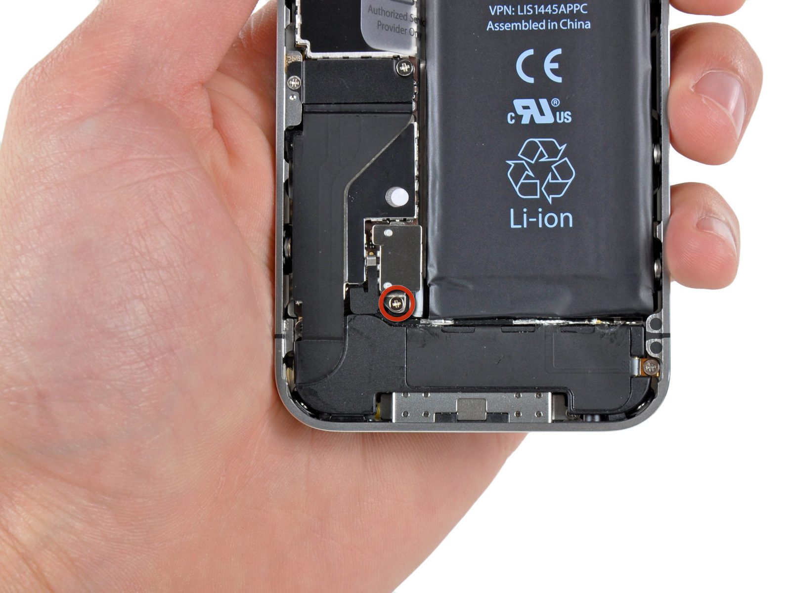 Changer Face Arriere Iphone 4