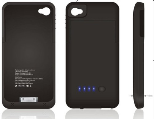 Coque Batterie iPhone 4/S
