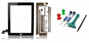Kit Vitre Tactile iPad 2 avec Outils pour iPad 2
