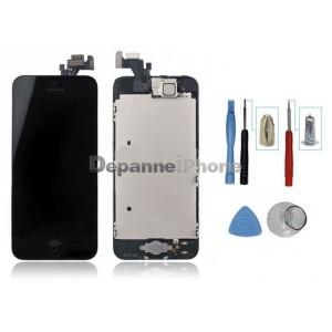 Kit écran complet iPhone 5 Noir : Vitre Tactile + Ecran LCD + Outils iPhone 5