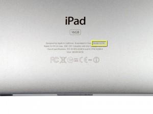 Modèle iPad