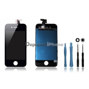 kit-face-avant-iphone-4s-noir-vitre-tactile-ecran-lcd-outils