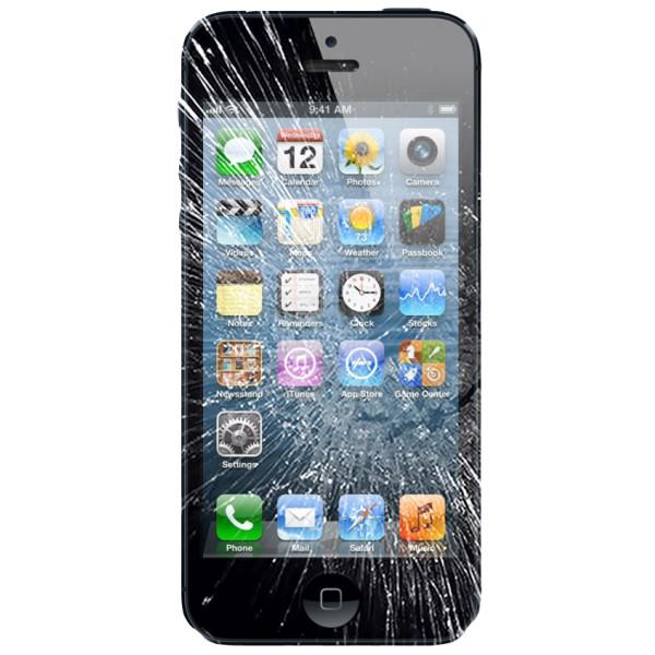 Ecran iPhone 5 cassé
