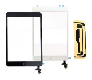 Kit Ecran/Vitre tactile complète pour iPad Mini Noir ou Blanc