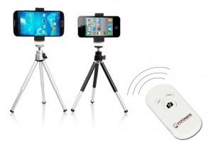 Télécommande Retardateur Bluetooth pour iPhone, iPad, Samsung Galaxy, Google Nexus