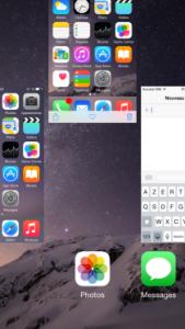 Quitter une application sur iPhone ou iPad