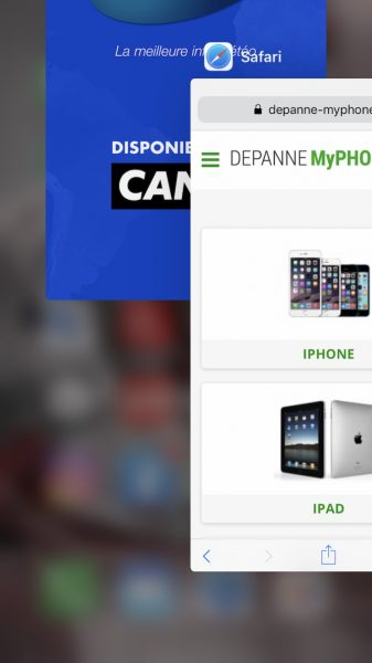 Comment quitter une application sur iPhone ou iPad