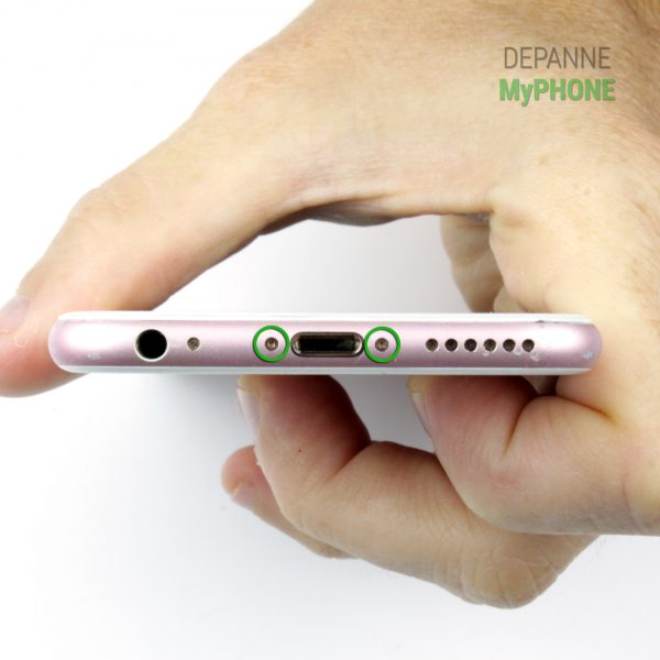 Retrait des vis externes de l'iPhone 6S