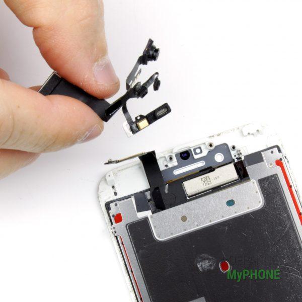 Retrait de l'ensemble caméra, capteur, et microphone iPhone 6S
