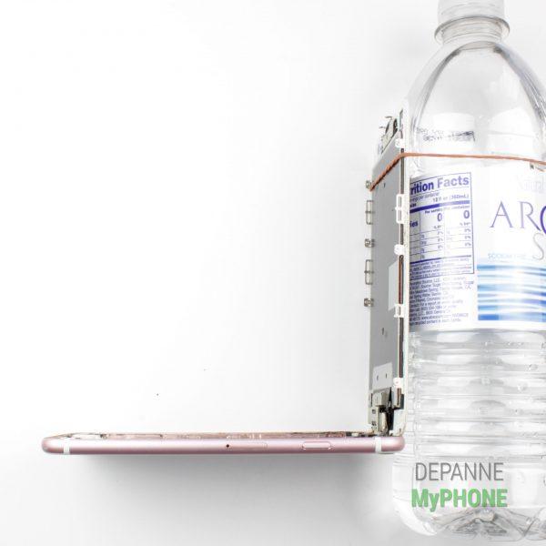 Angle d'ouverture maximal de l'écran de l'iPhone 6S