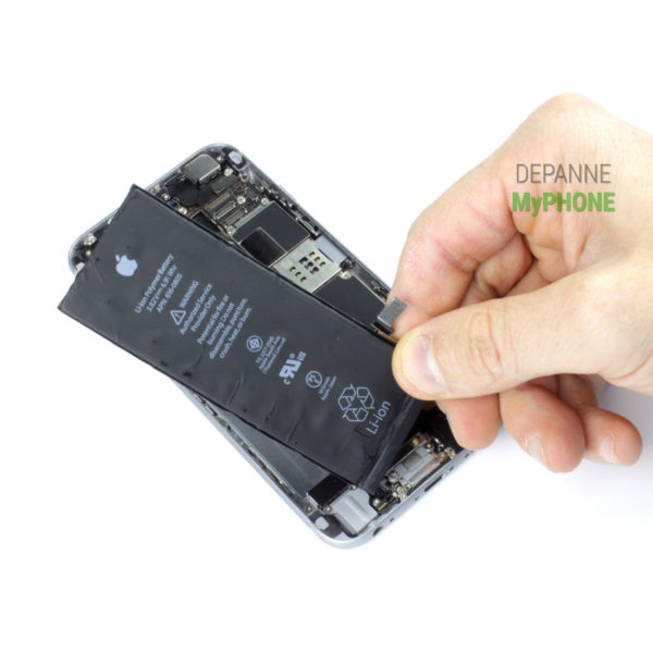 Retrait de la batterie iPhone 6